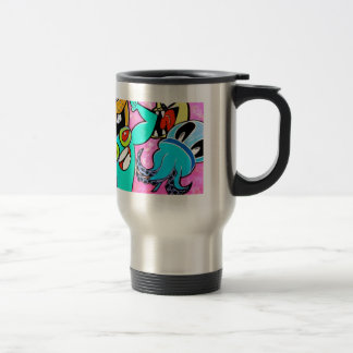 """the creatures"" travel mug"