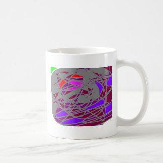 The creature's web classic white coffee mug