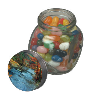 The Creek is Calling and I Must Go Glass Jars
