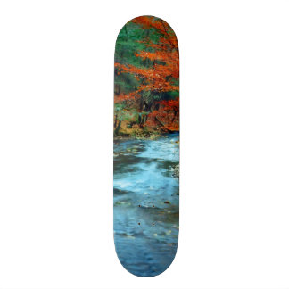 The Creek is Calling and I Must Go Skateboard Deck
