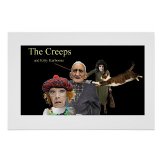 The Creeps and Kitty Karboone Poster