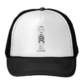 The creepy boy mesh hat