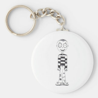 The creepy boy keychain