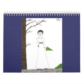 The Creepy & Cute Jane Austen Calendar