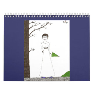 The Creepy & Cute Jane Austen Calendar