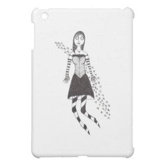 The Creepy Heart Girl Cover For The iPad Mini