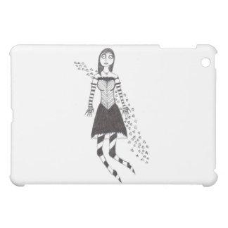 The Creepy Heart Girl iPad Mini Cases