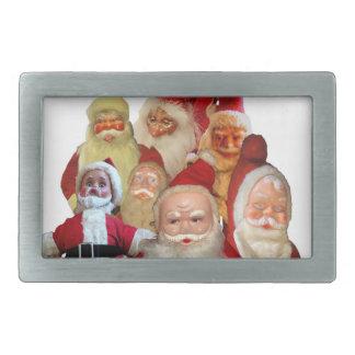 The Creepy Vintage Santa Gang Belt Buckle