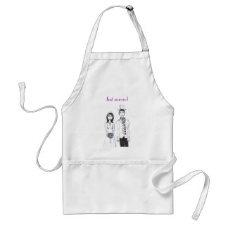 The Creepy Wedding, Just married Adult Apron