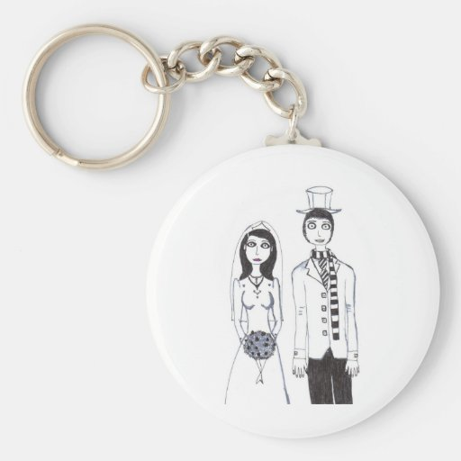 The Creepy Wedding Keychain