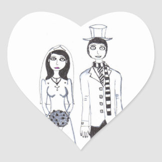The Creepy Wedding Sticker
