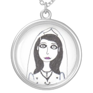The Creepy Wedding the Bride necklace