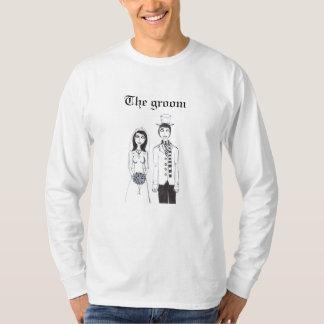 The Creepy Wedding, The groom T-Shirt