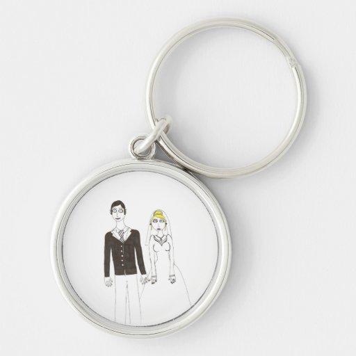 The Creepy wedding the Second Keychain