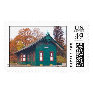 The Cresco Train Station Stamp