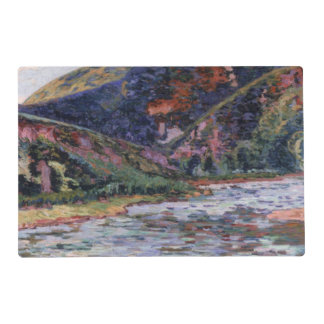 The Creuse in Summertime, 1895 (oil on canvas) Placemat