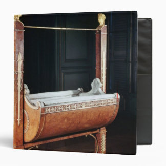The crib of the King of Rome  from Saint-Cloud Binder