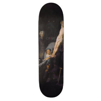 The Crime Skateboard
