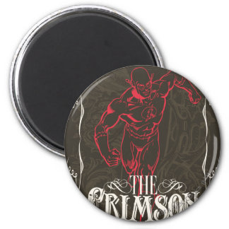 The Crimson Comet - It's Showtime! Poster 2 Inch Round Magnet
