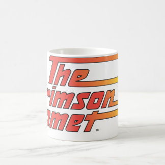 The Crimson Comet Logo Coffee Mug