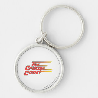 The Crimson Comet Logo Keychain