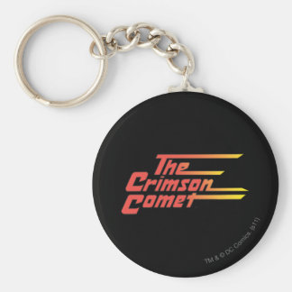 The Crimson Comet Logo Keychains