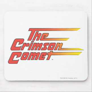 The Crimson Comet Logo Mouse Pad