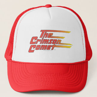 The Crimson Comet Logo Trucker Hat