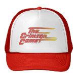 The Crimson Comet Logo Trucker Hat