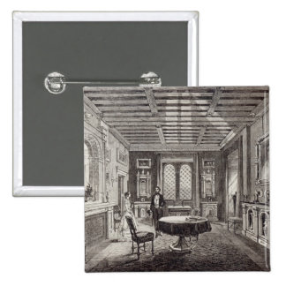 The Crimson Drawing Room, Lansdown Tower Pinback Button