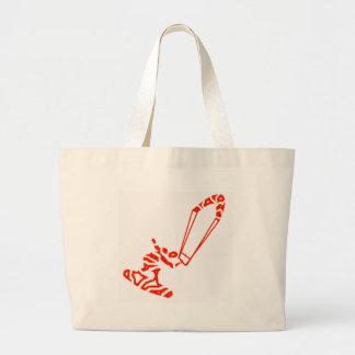 The Crimson Kiteboard Tote Bag