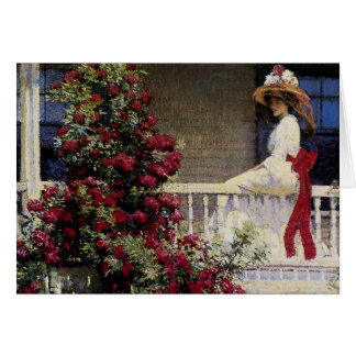 The Crimson Rambler Greeting Card