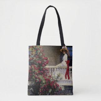 The Crimson Rambler Tote Bag