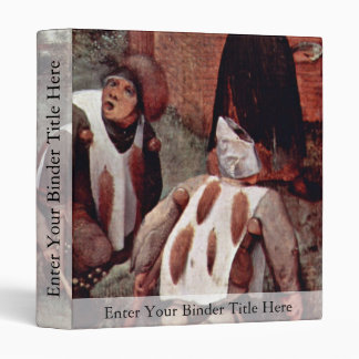 The Cripple By Bruegel D. Ä. Pieter (Best Quality) Vinyl Binders