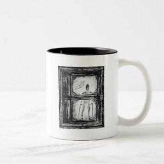 The Crippled Man Two-Tone Coffee Mug