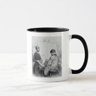 The Critic, published in 'Lecons et Conseils' Mug