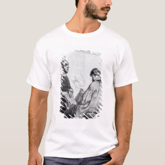 The Critic, published in 'Lecons et Conseils' T-Shirt