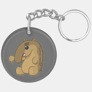 The Critical Tapir Double-Sided Round Acrylic Keychain