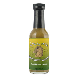 The Critical Tapir's Equilibrium Shift Hot Sauce