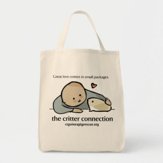 The Critter Connection Grocery Tote Tote Bag