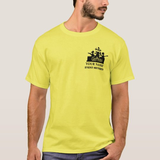 The Critters EVENT SECURITY light T-Shirt
