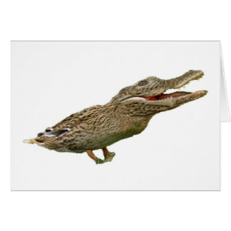 The Crocoduck Card