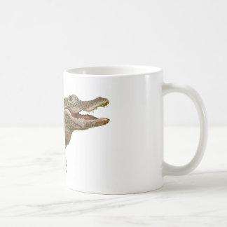 The Crocoduck with feet Coffee Mug