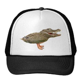 The Crocoduck with feet Mesh Hats