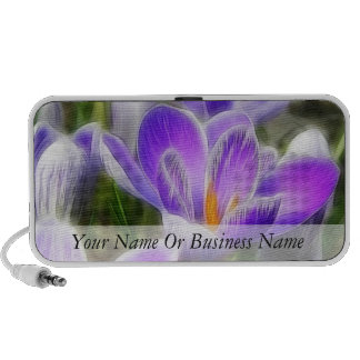 The Crocus Patch Portable Speakers