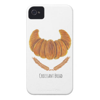 The Croissant Bread iPhone 4 Cover