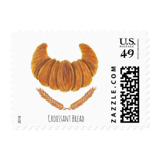 The Croissant Bread Stamps