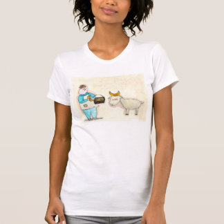 The Croissant Vendor and the Goat T-Shirt