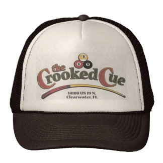 The Crooked Cue Hat