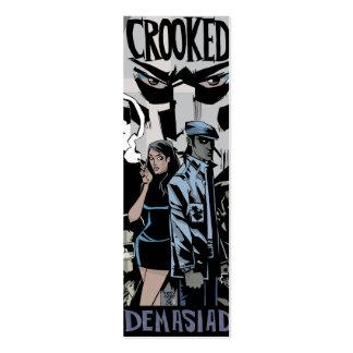 The Crooked Owl Profile Card Mini Business Card